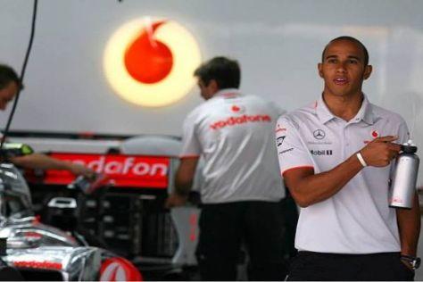 Kein Wechsel: Lewis Hamilton möchte so lange wie möglich bei McLaren bleiben