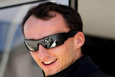 Robert Kubica hat bei Renault einen Vertrag bis 2012 unterzeichnet