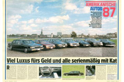Amerikanische Autos '87