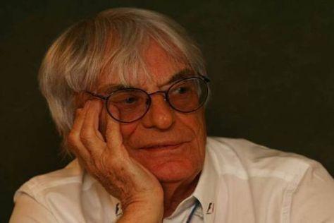 Formel-1-Boss Bernie Ecclestone hat noch lange nicht vor in Rente zu gehen