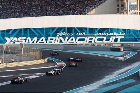 In Abu Dhabi endet die spannende Saison 2010 - mit der Vergabe der WM-Titel?