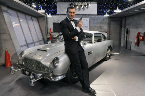 Aston Martin DB5 von James Bond
