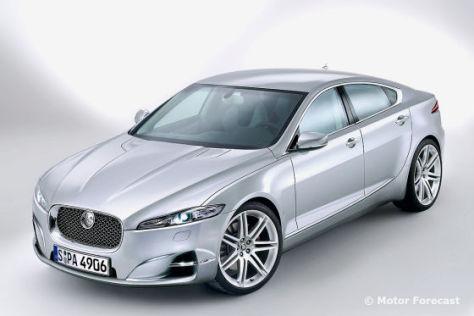 Zeichnung Jaguar XS