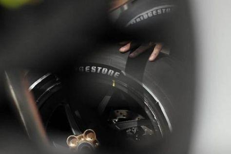 Am Hinterrad kommt in Estoril wieder der asymmetrische Reifen zum Einsatz