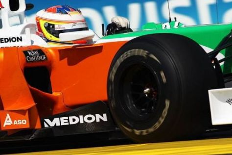 Paul di Resta durfte in diesem Jahr bei etlichen F1-Trainings testen