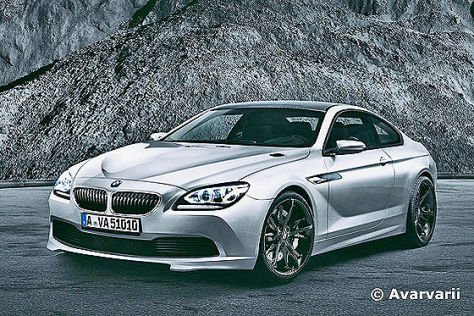BMW M6: Erstes Bild