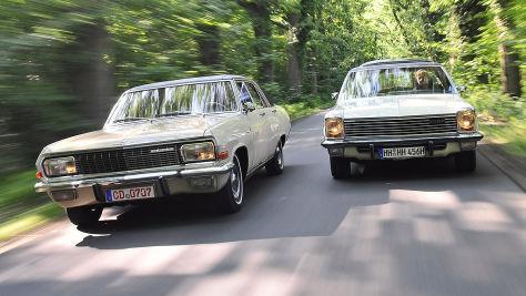 Oberklasse-Opel: Kapitän und Diplomat