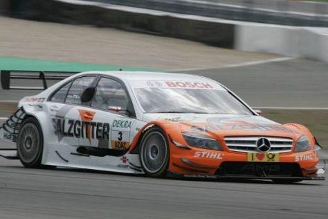 Gary Paffett raste in Adria mit knappem Vorsprung auf die Pole-Position