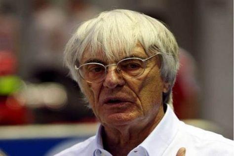 Bernie Ecclestone ist unzufrieden mit den neuen Teams und spart nicht mit Kritik...