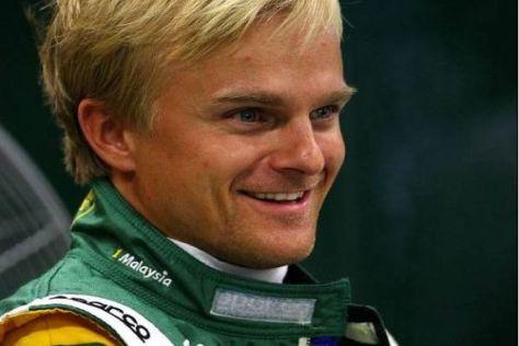 Heikki Kovalainen ist planmäßig zur Saison 2007 in die Formel 1 aufgestiegen