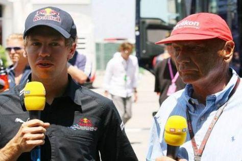 Niki Lauda spricht Red-Bull-Ass Sebastian Vettel jegliche Titelchancen ab
