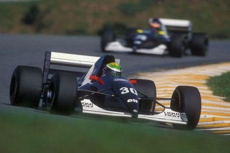 Aus Ferrari wurde nichts: Karl Wendlinger kehrte 1993 mit Sauber zurück