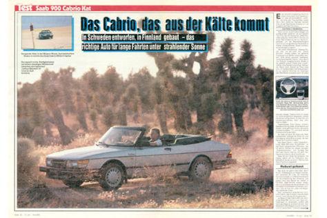 Saab 900 Cabrio Kat