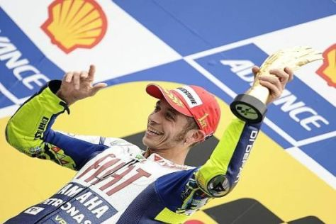 "Fahren ja, plaudern nein: Valentino Rossi erhält einen ""Maulkorb"" von Yamaha..."
