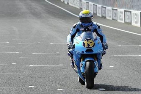 Álvaro Bautista soll 2011 das einzige Werksbike von Suzuki fahren