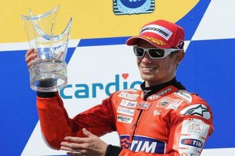Casey Stoner startet am Wochenende zum letzten Mal für Ducati - und will siegen