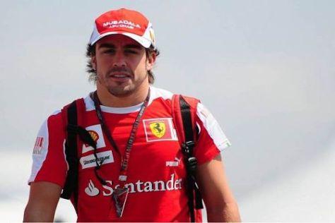 Fernando Alonso kann schon in São Paulo Weltmeister 2010 werden