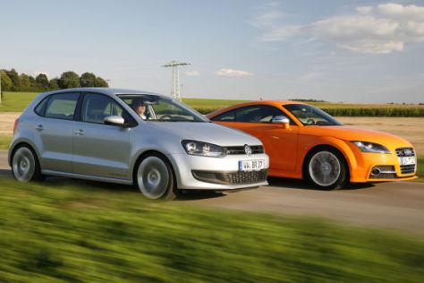 Audi TTS gegen Car Creativ Polo R