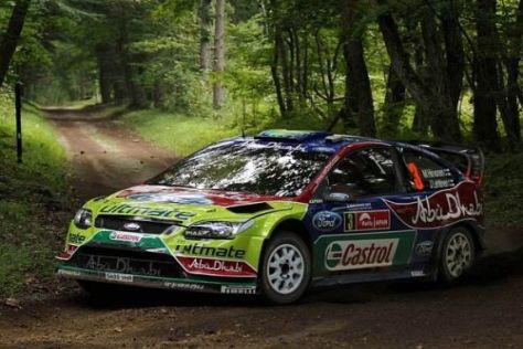 Mikko Hirvonen würde gern noch einen weiteren Erfolg mit dem Focus feiern