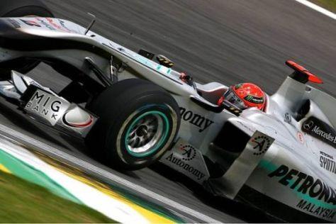 Michael Schumachers Formkurve zeigt seit einiger Zeit leicht nach oben