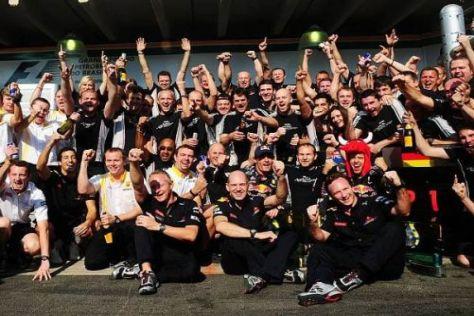 Red Bull bejubelt den ersten WM-Titel in der Geschichte des Rennstalls