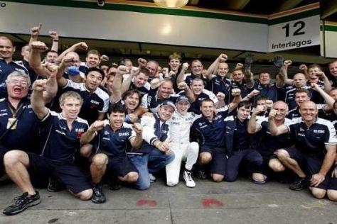 Williams feierte am Samstag die Pole-Position von Nico Hülkenberg