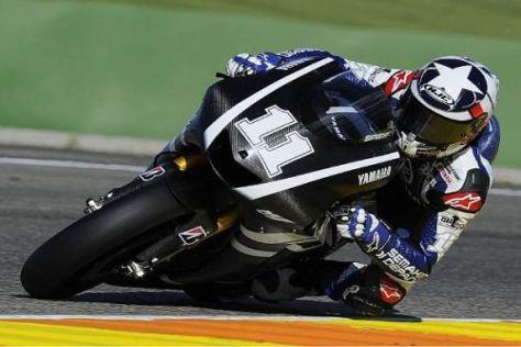 Ben Spies klassierte sich bei seinem Testeinsatz für Yamaha auf Platz drei