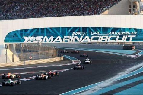 Auf dem Yas Marina Circuit steigt auch in dieser Saison das Formel-1-WM-Finale