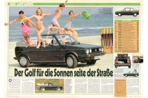 Golf-Cabrio