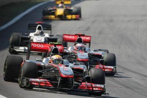 McLaren-Mercedes will in Abu Dhabi eine Rolle um den Fahrertitel spielen