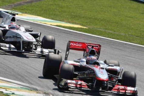 McLaren geriet in der zweiten Saisonhälfte zunehmend in Bedrängnis