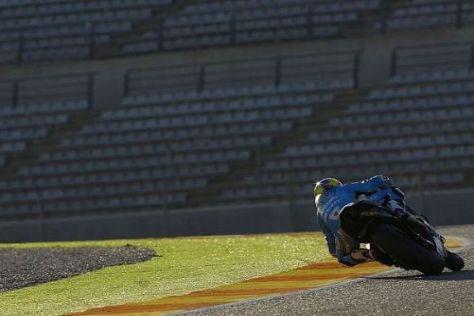 Álvaro Bautista und Suzuki konnten in Valencia einige Fortschritte erzielen