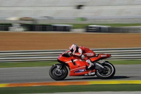 Nicky Hayden trieb die Entwicklung für 2011 in Valencia auch am Mittwoch voran
