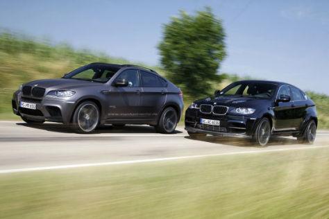 Zwei brachiale BMW X6 M von AC Schnitzer und Manhart im Vergleich