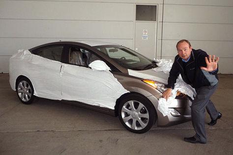 Hyundai Elantra Erlkönig