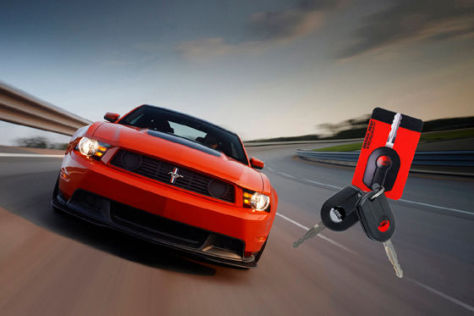 Ford Mustang Boss 302 mit Trackey