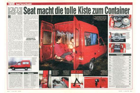 Seat Terra Kombi