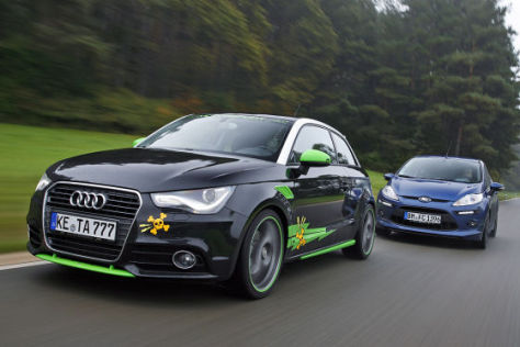 Abt AS1 gegen MS Design Fiesta GT