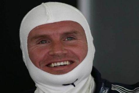 David Coulthard ist ein Rennfan, der das Glück hat, das Auto fahren zu dürfen