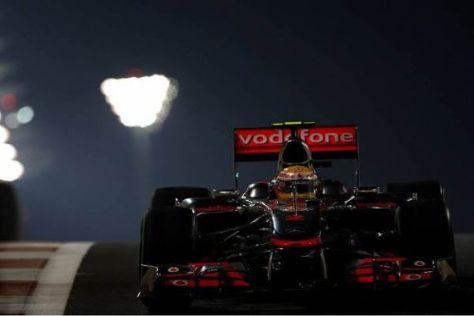 Lewis Hamilton kämpft verbissen um seine letzte Minichance in dieser WM
