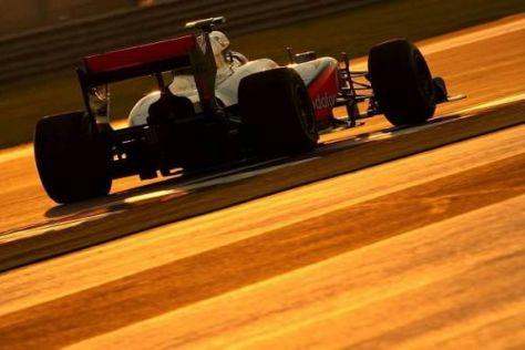 Lewis Hamilton ist optimistisch, dass er ganz vorne mitfahren kann