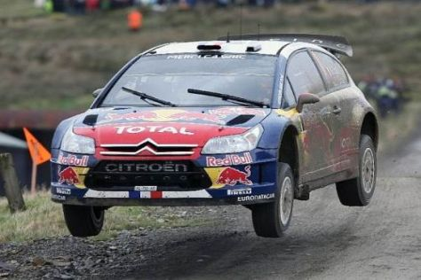 Sébastien Loeb hat sich die Führung bei der Rallye Wales zurück erobert