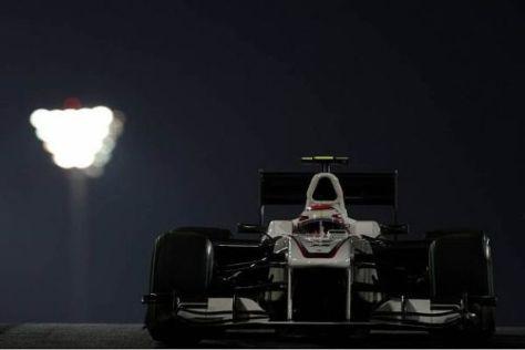 Kamui Kobayashi kämpfte mit einer nicht optimalen Bremsbalance