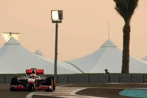 Lewis Hamilton scheiterte nur knapp an Sebastian Vettel