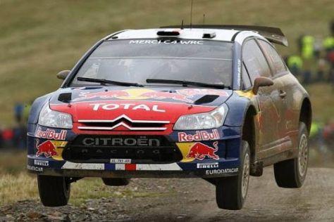 Sébastien Loeb hat die Nase im Duell gegen Petter Solberg noch knapp vorn