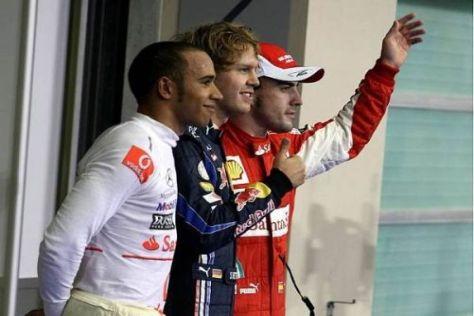 Zumindest für das Rennen haben diese drei Herren die wohl besten Chancen