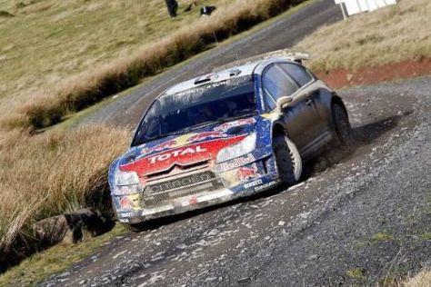 Sébastien Loeb konnte in Wales seinen 62. WRC-Sieg einfahren