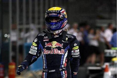Ausgeträumt: Mark Webber hatte heute nicht den Funken einer Chance