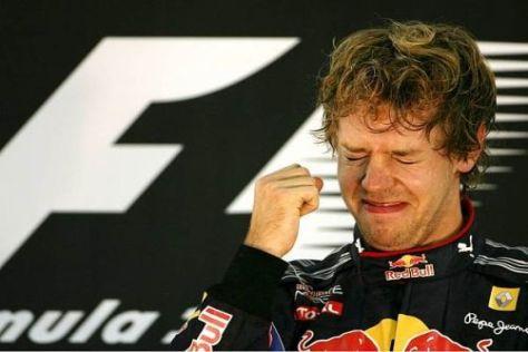 Am Ziel seiner Träume: Sebastian Vettel aus Heppenheim ist Weltmeister
