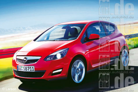 Opel Junior Illustration